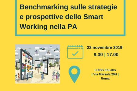 Benchmarking sulle strategie e prospettive dello Smart Working nella PA